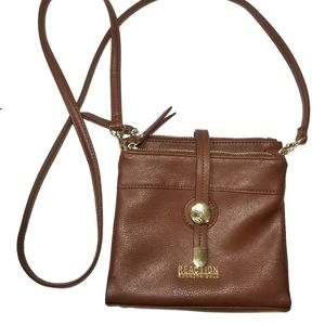 {Kenneth Cole Reaction} Brown Crossbody Bag